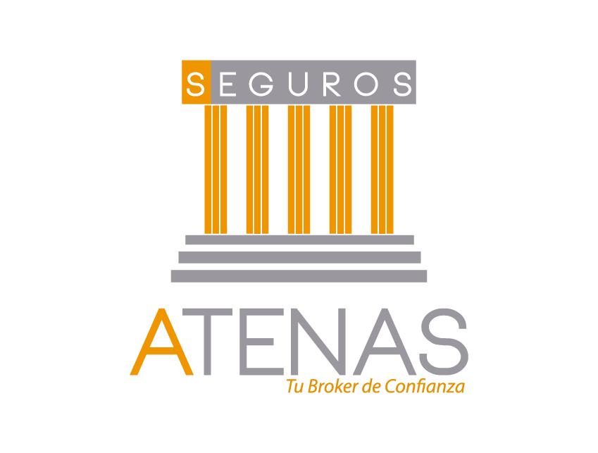 Mockup logo Atenas