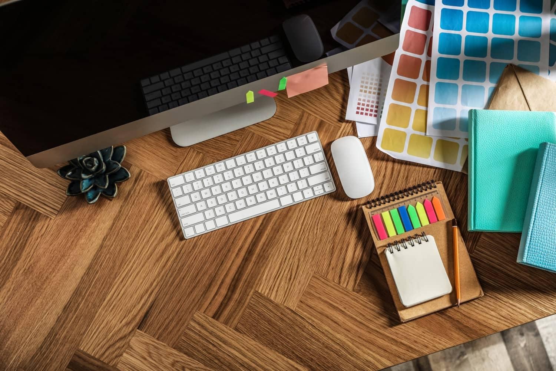 Diseño web en una oficina
