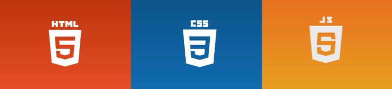 Logo de HTML5, CSS3 y JavaScript5