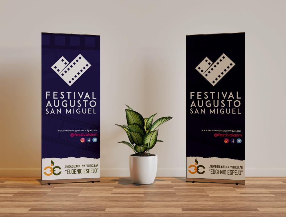 Tríptico informativo para el festival