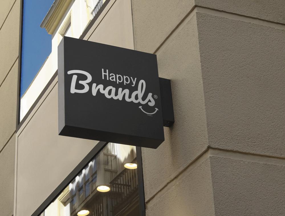Tarjetas de presentación para Happy Brands