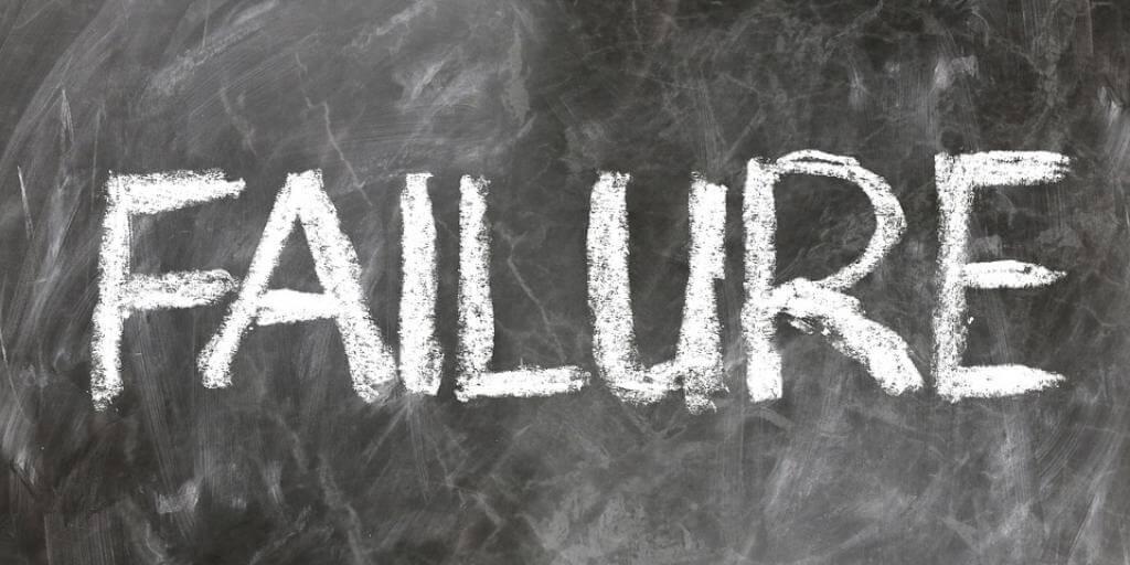 redes sociales failure